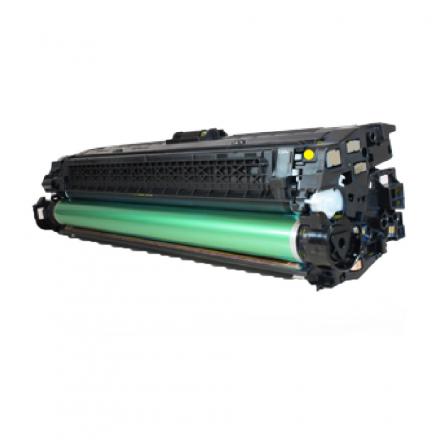 Toner HP 650A - Jaune compatible