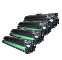 Pack HP 650A - 4 toners compatible