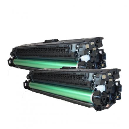Pack HP 654X x2 - Noir compatible