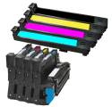 Pack HP 823/824 - 4 toners + 4 tambours compatible