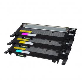 Pack SAMSUNG CLT-504L C/M/Y 3 toners compatible