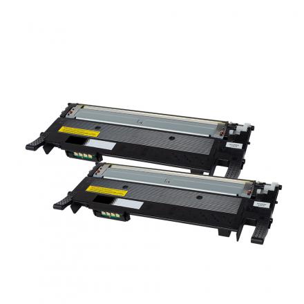 Pack SAMSUNG CLT-K506L x2 Noir compatible
