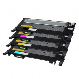 Pack SAMSUNG CLT-506L BK/C/M/Y 4 toners compatible