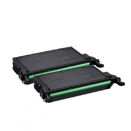 Pack SAMSUNG CLT-K6092S x2 Noir compatible