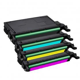 Pack SAMSUNG CLT-6092S BK/C/M/Y 4 toners compatible