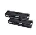Pack SAMSUNG ML-1710D3 x2 Noir compatible