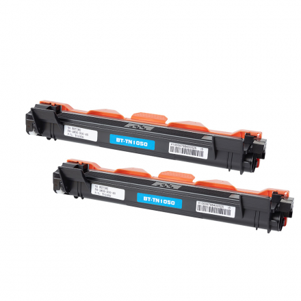 Pack BROTHER TN1050 x2 - Noir compatible