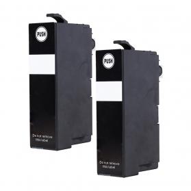 Pack EPSON 35 XL x2 - Noir compatible
