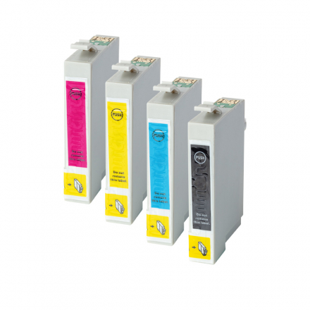 Pack EPSON T0715 - 4 cartouches compatible