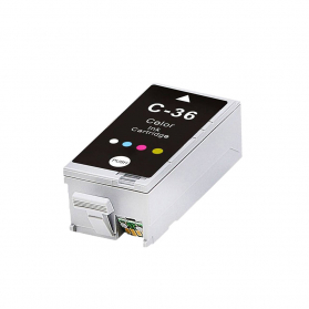 Cartouche CANON CLI-36 - 3 couleurs compatible