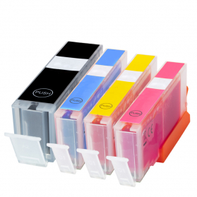 Pack CANON PGI-550 XL/CLI-551 XL - 4 cartouches compatible