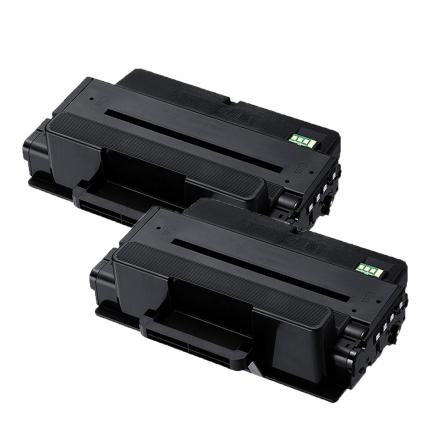 Pack SAMSUNG MLT-D205E x2 Noir compatible