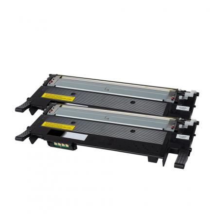 Pack SAMSUNG CLT-P404B x2 Noir compatible