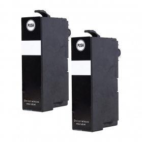 Pack EPSON 34 XL x2 - Noir compatible
