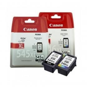 Pack CANON PG-545 XL/CL-546 XL - Noir et couleurs ORIGINAL