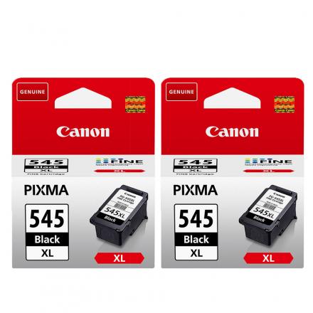 Pack CANON PG-545 XL x2 - Noir ORIGINAL