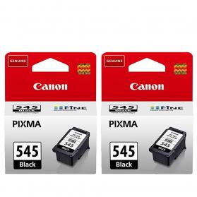 Pack CANON PG-545 x2 - Noir ORIGINAL