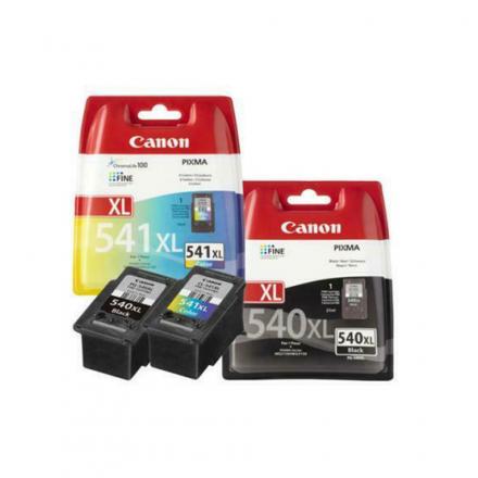 Pack CANON PG-540 XL/CL-541 XL - Noir et couleurs ORIGINAL