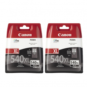 Pack CANON PG-540 XL x2 - Noir ORIGINAL