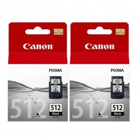 Pack CANON PG-512 x2 - Noir ORIGINAL