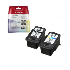 Pack CANON PG-510/CL-511 - Noir et couleurs ORIGINAL