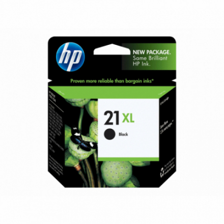 Cartouche HP 21 XL - Noir ORIGINE