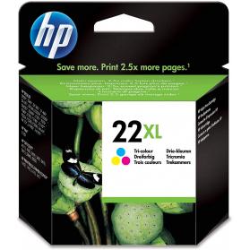 Cartouche HP 22 XL - 3 couleurs ORIGINE