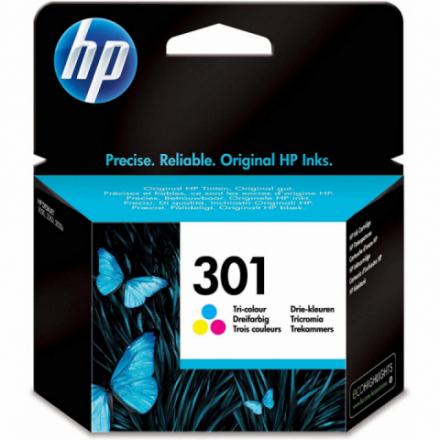 Cartouche HP 301 - 3 couleurs ORIGINE