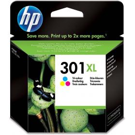 Cartouche HP 301 XL - 3 couleurs ORIGINE