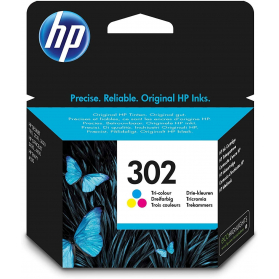Cartouche HP 302 - 3 couleurs ORIGINALE