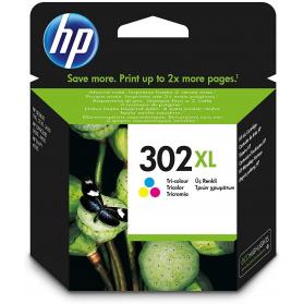 Cartouche HP 302 XL - 3 couleurs ORIGINE