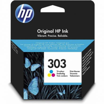 Cartouche HP 303 - 3 couleurs ORIGINE