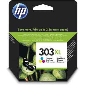 Cartouche HP 303 XL - 3 couleurs ORIGINE