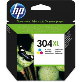 Cartouche HP 304 XL - 3 couleurs ORIGINE