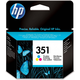 Cartouche HP 351 - 3 couleurs ORIGINE