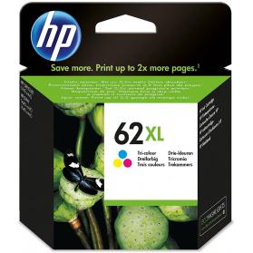 Cartouche HP 62 XL - 3 couleurs ORIGINE