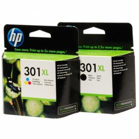 Pack HP 301 XL - Noir et couleurs ORIGINE