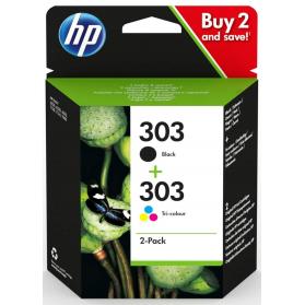 Pack HP 303 - Noir et couleurs ORIGINE