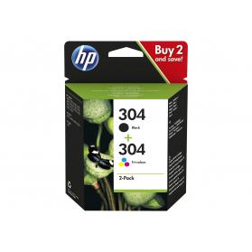 Pack HP 304 - Noir et couleurs ORIGINE