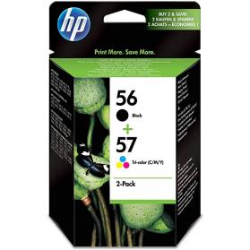 Pack HP 56/57 - Noir et couleurs ORIGINE