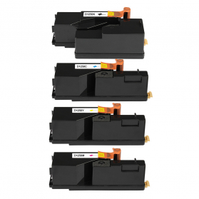 Pack Dell 593-11016 - 4 Toners compatibles