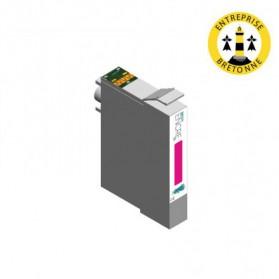 Cartouche EPSON T0803 - Magenta compatible