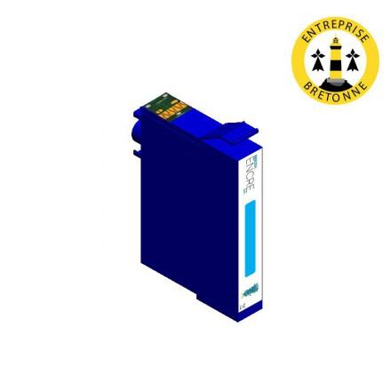 Cartouche EPSON T1282 - Cyan compatible