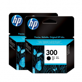 Pack HP 300 x2 - Noir ORIGINAL
