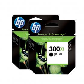 Pack HP 300 XL x2 - Noir ORIGINAL