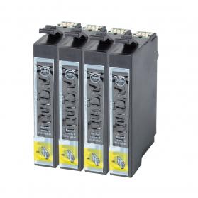Pack EPSON T1281 XL x4 - Noir compatibles