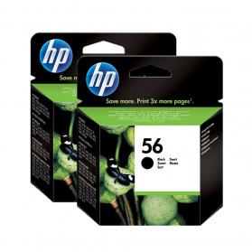 Pack HP 56 x2 - Noir ORIGINAL