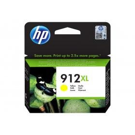 Cartouche HP 912 XL - Jaune ORIGINE