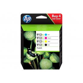 Pack HP 912 XL - 4 cartouches ORIGINES