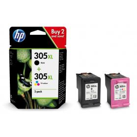 Pack HP 305 - Noir et couleurs ORIGINAL